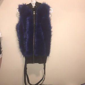 Gothic Fur Vest